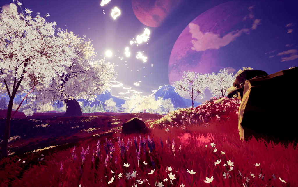 the companion red field